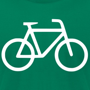 Men's Bicycle Tee - Men's T-Shirt by American Apparel
