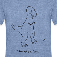 Design ~ T-Rex Flossing (Am Apparel)