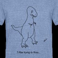 Design ~ T-Rex Flossing (Am Apparel)