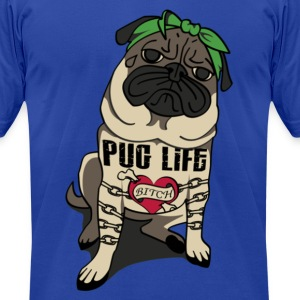 Pug Life Tee - Men's T-Shirt by American Apparel