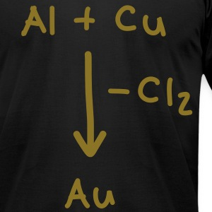 Alchemy, how to make gold T-Shirts - Men's T-Shirt by American Apparel