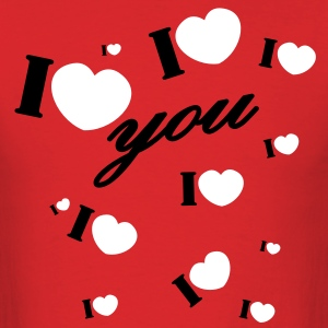 I love you valentine Valentine's Day T-Shirts - Men's T-Shirt