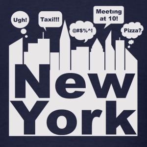 New York City Talks - Men's T-Shirt