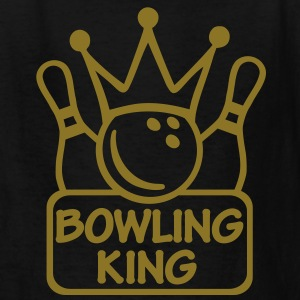 Bowling king Kids' Shirts - Kids' T-Shirt