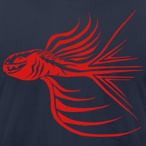 Fighting Fish - Goldfish on Steroids T-Shirts - Men's T-Shirt by American Apparel