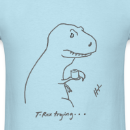 Design ~ T-Rex Bathroom (Basic Tee)