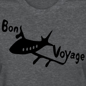Bon voyage flying Air plane Women's Standard Weight T-Shirt - Women's T-Shirt