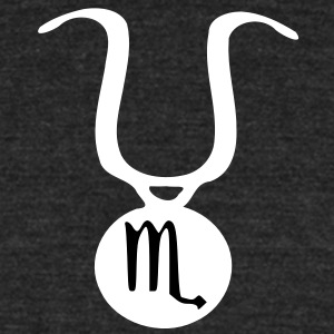 Zodiac sign Scorpio Men's Tri-Blend Vintage T-Shirt by American Apparel - Unisex Tri-Blend T-Shirt