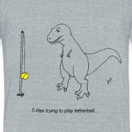 Design ~ T-Rex Tetherball (Am Apparel)