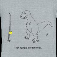 Design ~ T-Rex Tetherball (Am Apparel)