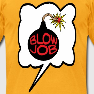 Blowjob Bomb T-Shirts - Men's T-Shirt by American Apparel