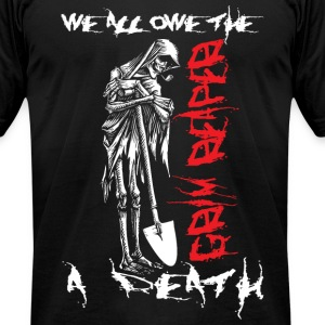 Grim Reaper T-Shirts - Men's T-Shirt by American Apparel