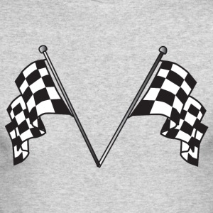 Racing Flags - Men's Long Sleeve T-Shirt by Next Level
