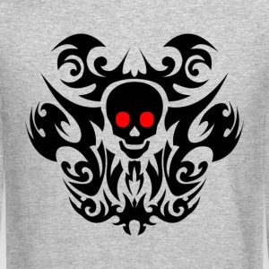 Tribal skull. Long Sleeve Shirts - Crewneck Sweatshirt