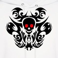 Tribal skull. Hoodies