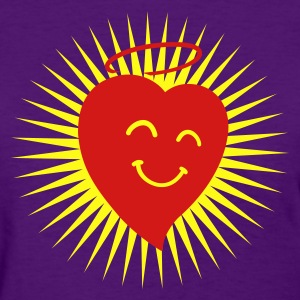 Happy Heart in Shine 2c Women's T-Shirts - Women's T-Shirt