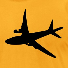 Airplane Men's T-Shirt by American Apparel
