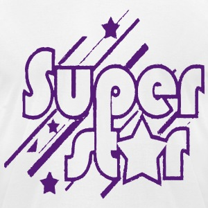 SUPER STAR - Men's T-Shirt by American Apparel