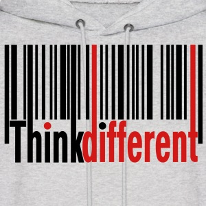 Think Different Hoodies - Men's Hoodie