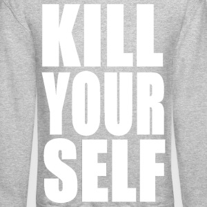 KILL YOURSELF BOLD - WHITE - Crewneck Sweatshirt