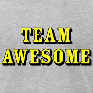 Team Awesome - Men's T-Shirt by American Apparel