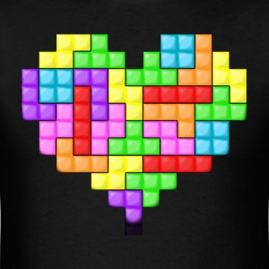 For The Love Of Tetris Tee - Men's T-Shirt
