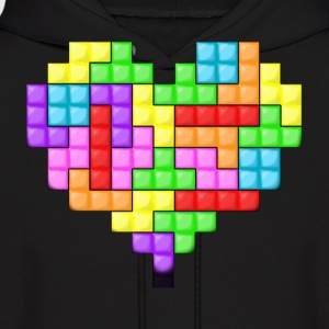 For The Love Of Tetris Hoodie - Men's Hoodie