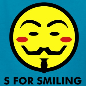 Vendetta Smiley Icon 3c Kids' Shirts - Kids' T-Shirt