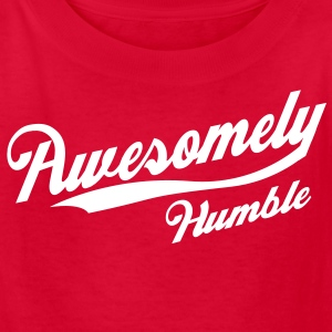 Awesomely Humble Kids' Shirts - Kids' T-Shirt