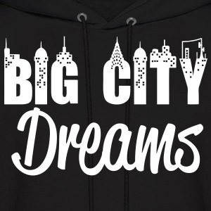 Big City Dreams Hoodies - stayflyclothing.com - Men's Hoodie