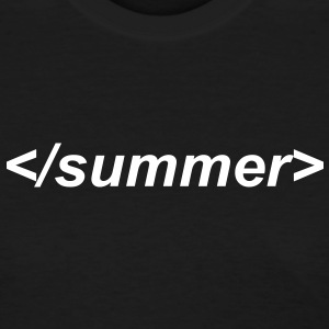 End of summer html end tag - Women's T-Shirt