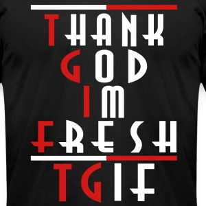 TGIF T-Shirt - Men's T-Shirt by American Apparel