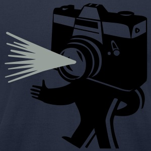 Kantno Camera Man - Men's T-Shirt by American Apparel