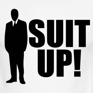 Suit up - Men's Ringer T-Shirt