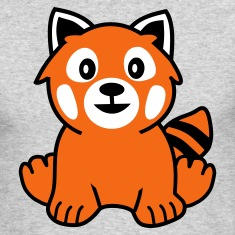 Red Panda Long Sleeve Shirts