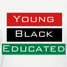 Young Black and Educated Woman's