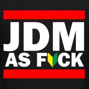 JDM AS FUCK (JDM Logo) Long Sleeve Shirts - Crewneck Sweatshirt