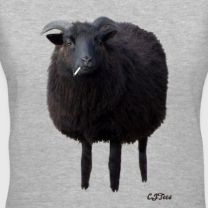 Lady's V - Black Sheep - Silent - Women's V-Neck T-Shirt