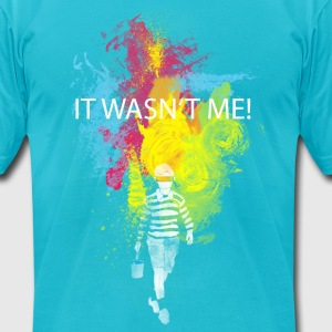 It wasn't me! T-Shirts - Men's T-Shirt by American Apparel