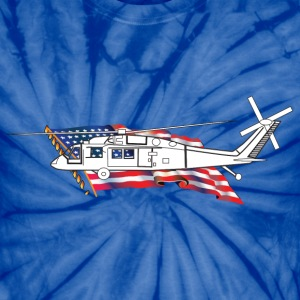 Helicopter - Unisex Tie Dye T-Shirt