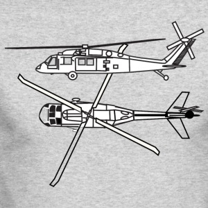 Helicopters - Men's Long Sleeve T-Shirt by Next Level