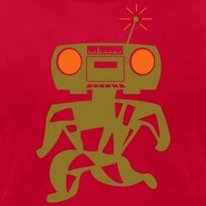 Kantno Boomboxer - Men's T-Shirt by American Apparel