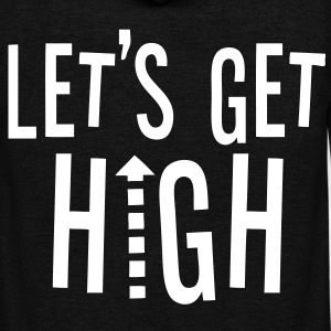 Let's Get High Zip Hoodies/Jackets - stayflyclothing.com - Unisex Fleece Zip Hoodie by American Apparel