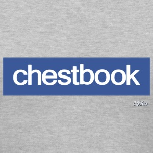 Lady's V - chestbook - Women's V-Neck T-Shirt