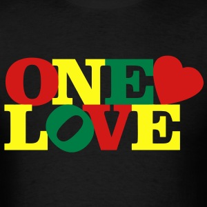 One Love T-Shirts - Men's T-Shirt