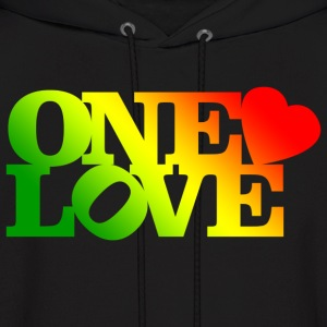 One Love Rasta Hoodies - Men's Hoodie