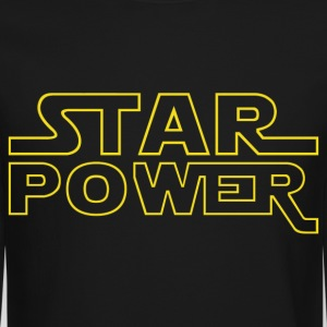 Star Power Long Sleeve Shirts - Crewneck Sweatshirt