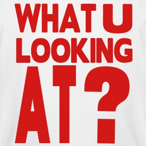WHAT YOU LOOKING AT? T-Shirts - Men's Tall T-Shirt