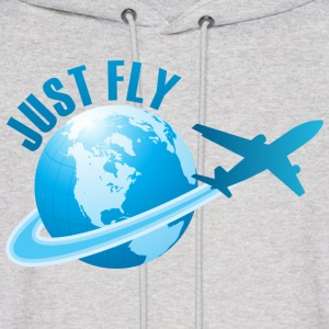 Just Fly Hoodies - Men's Hoodie