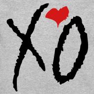 Design ~ CREW Love- XO Alternative Black w/ Red Heart